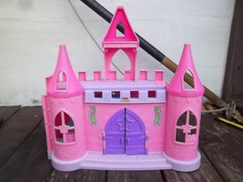 Little People Pink Castle with Sounds, Includes People and Accessories - $18.80