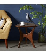 """Ink + Ivy """"Mid century Modern Style"""" Blaze Triangle Wood End Table - $148.00"""