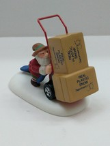 """Department 56 North Pole Series Delivering Real Plastic Snow # 56435 2"""" ... - $12.87"""