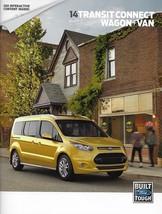 2014 Ford TRANSIT CONNECT brochure catalog US 14 XL XLT Titanium Van Wagon - $8.00
