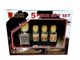 English Leather 5 Piece Cologne Gift Set - $15.00