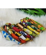 Bracelets of african cloth etsy store thumbtall