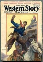 Western Story Magazine Pulp May 7 1927- Frank Richardson Pierce G/VG - $56.75