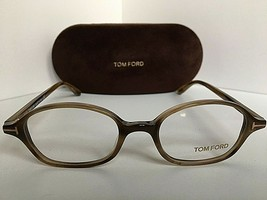 New Tom Ford TF 5151 047 47mm Rx Light Havana Eyeglasses Frame Italy - $229.99