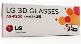 2 Pairs LG 3D TV Theater 3d Glasses AG-F200 LW5600 LW5700 LW6500 + Other TVs - $4.99