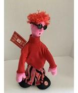 "Hallmark DANCING ""Love Machine"" Red/Pink Doll w/Sunglasses Plush 12"" w/tag - $14.99"