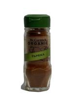 McCormick Organic Paprika 1.62 Oz 08/2021 Exp 1 bottle - $7.42