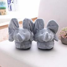 Plush Elephant Home Slippers - $33.12