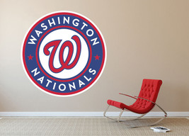 Washington Nationals MLB Baseball Team Wall Decal Decor For Home Laptop ... - $104.45