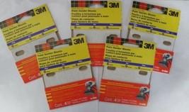 "3M 9149NA 4"" x 4-1/2"" 6 Hole HOOK AND LOOP Palm Sander Sheets 5pks - $4.95"