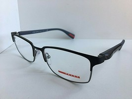 New PRADA VPS 50F UEB-1O1 Black 54mm Men's Eyeglasses Frame Italy - $89.99