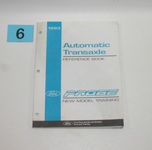 1993 Probe New Model Training Manual Automatic Transaxle Reference GOOD USED #4 - $9.85