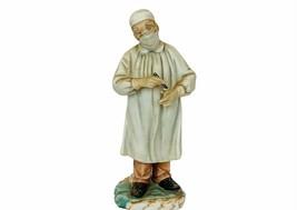 Doctor Surgeon figurine scalpel vtg sculpture gift decor nurse Essential... - $62.89