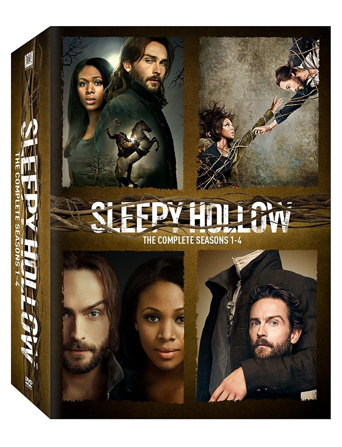 Sleepy hollow the complete series seasons 1 4  dvd 2017 18 disc boxset  1 2 3 4