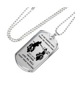Brother Dog Tag Military Ball Chain - Biker Pendant Necklace Gifts For M... - $39.55+