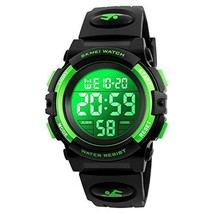 Kids Watch, Boys Sports Digital Waterproof Led Watches with Alarm Wrist Watches