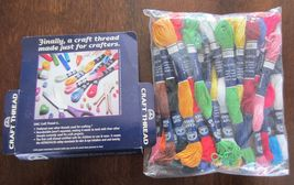 36 10 Yard Skeins DMC Rainbow Craft Thread Multi Colors 100% Cotton Bracelets - $12.99