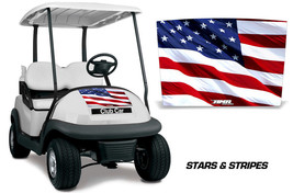 Club Car Precedent i2 Golf Cart Hood Graphic Kit Wrap Decal 2008-2013 US... - $69.25