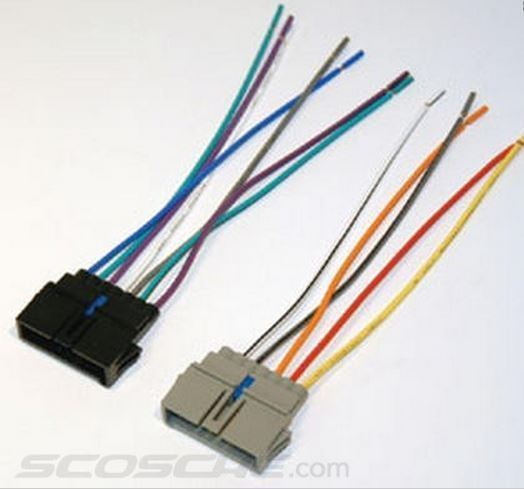 SCOSCHE  74+ CHY JEEP ISO/DIN MOUNTING KIT + HARNESS