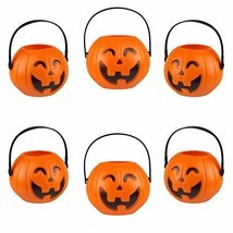 Kesoto Halloween Pumpkin Candy Holder Halloween Candy Bucket with Handle... - €11,51 EUR