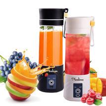 New Juicer Blender Portable Usb Cup Fruit Mixer Mini Rechargeable Fruit ... - €84,46 EUR