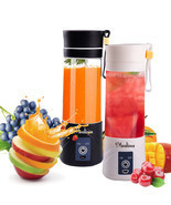 New Juicer Blender Portable Usb Cup Fruit Mixer Mini Rechargeable Fruit ... - $186.46 CAD