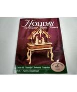 Holiday Scrollsaw Music Boxes Karen Rick Longabaugh 1999 Paperback - $14.84