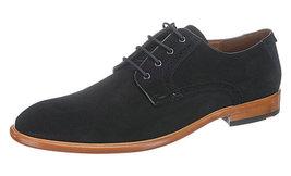 Handmade Mens black suede formal shoes, Mens black derby shoes, Mens shoes - $169.99