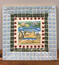 Retro South Dakota Souvenir Ash Tray Ceramic Ti... - $12.38