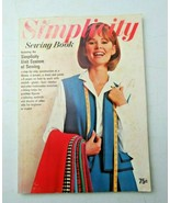 Vintage Simplicity Sewing Book 1965 w patterns - $5.00