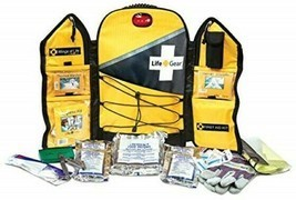 Emergency Survival Kit Yellow Backpack Life Gear 1 Person 3 Day Food Wat... - $274.49