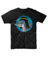 Reggae Shark Sharknado Key Of Awesome Men Black T-Shirt Tee - $17.99