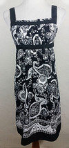 Ann Taylor Loft Womens Dress Size 4P Paisley Floral Pleated Sleeveless P... - $19.99