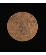 """Vintage 30s Palmolive """"Buy One Get One Free"""" cake - Brass Token - $12.00"""