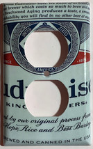 Budweiser Beer Bud Cans Light Switch Outlet Wall Cover Plate Home Decor image 2