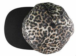 Another Enemy Unisex Safari Leopard Print Adjustable Snapback Baseball Hat NWT image 5