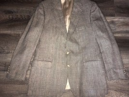 Polo University Club Ralph Lauren ~ Vtg Mens Suit Jacket Blazer Herringb... - $42.06