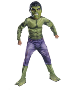 Kids Hulk Costume Cosplay Dress Up Medium Avengers - $16.82