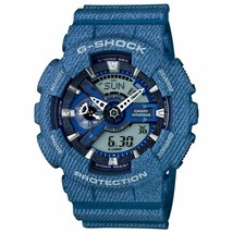 Casio G-Shock GA110DC-2A Mens Denim Pattern Watch LIMITED Collectors - $166.59