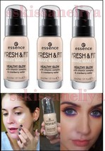 Essence Fresh & Fit Foundation 30ml Healty Glow Awake Make-up - $13.79