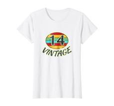 Funny Shirts - DOB 2014 TShirt Vintage Retro 14 Birth Year Tee Shirt Wowen - $19.95+