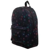 Playstation All Over Print Backpack Bag Black - $46.98