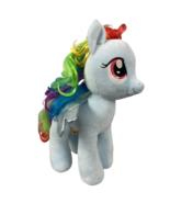 Build A Bear My Little Pony Rainbow Dash Plush 16 inch with sound chip B... - $18.66