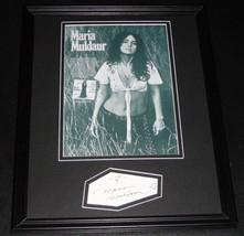 Maria Muldaur Signed Framed 11x14 Photo Display - $74.44