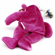 2002 Ty Birthday Beanie Baby January the Pink Teddy Bear Beanbag Plush Toy image 5