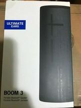 Ultimate Ears BOOM 3 Portable Waterproof Bluetooth Speaker - Night Black NEW