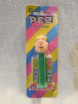 Flintstones Non U.S. German Card Pez Dispenser & Candy Barney Rubble - $6.95