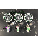 Starbucks Coffee Retractable Badge Reel - $15.99+