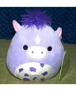 """Squishmallows MEADOW the PURPLE HORSE 5""""H NWT - $9.50"""