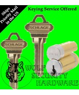 Qty 1 Schlage Large Format IC Removable Core C Keyway 626 Finish 1 Bitted - $48.61